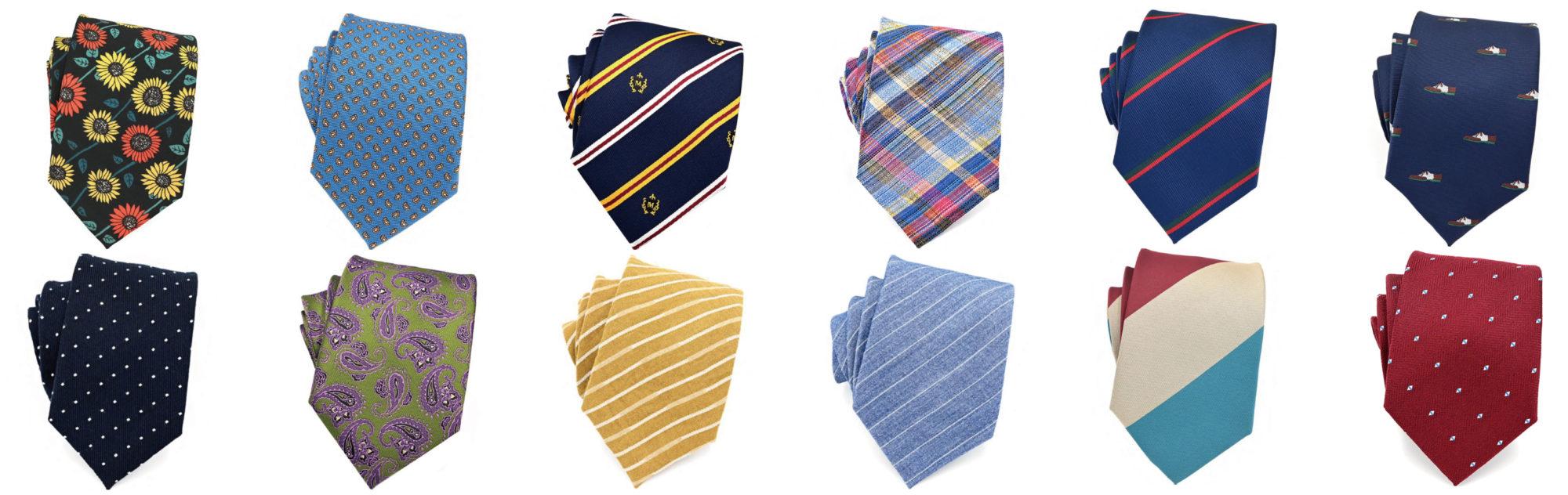 日本で一番種類が多いネクタイ屋